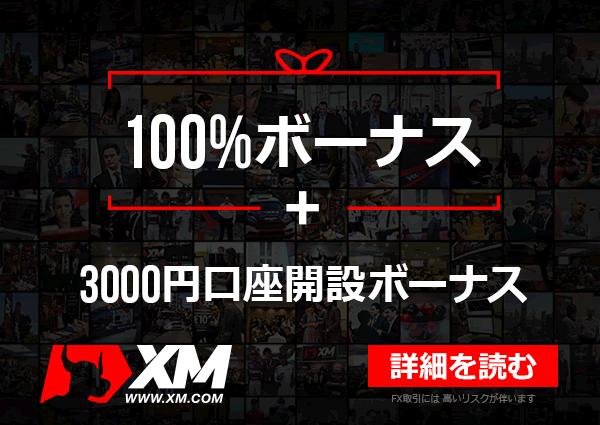 XMの2016年5月の限定100%ボーナス