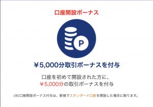 is6comの口座開設5,000円ボーナス