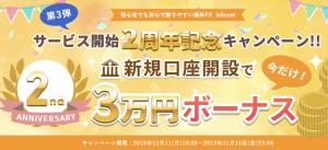 is6comの口座開設3万円ボーナス
